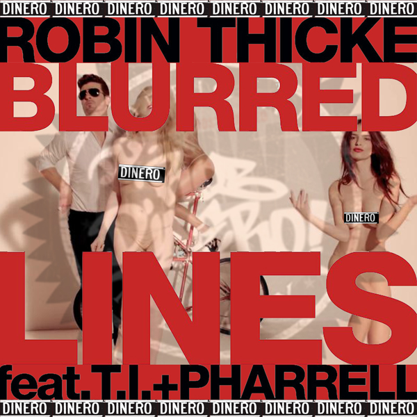 Pity, that robin thicke blurred lines opinion